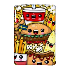 Cute Food Wallpaper Picture Apple Ipad Mini Hardshell Case (compatible With Smart Cover) by Nexatart