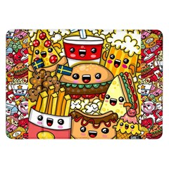 Cute Food Wallpaper Picture Samsung Galaxy Tab 8 9  P7300 Flip Case by Nexatart