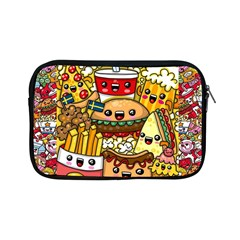 Cute Food Wallpaper Picture Apple Ipad Mini Zipper Cases by Nexatart