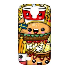Cute Food Wallpaper Picture Samsung Galaxy S4 Classic Hardshell Case (pc+silicone) by Nexatart