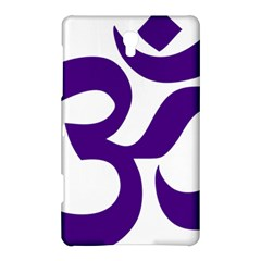 Hindu Om Symbol (purple) Samsung Galaxy Tab S (8 4 ) Hardshell Case  by abbeyz71