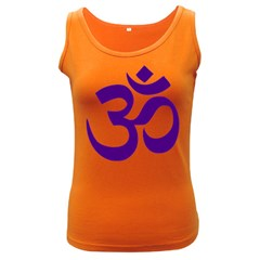 Hindu Om Symbol (purple) Women s Dark Tank Top by abbeyz71