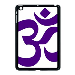 Hindu Om Symbol (purple) Apple Ipad Mini Case (black) by abbeyz71