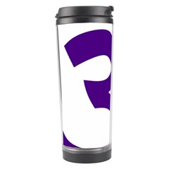Hindu Om Symbol (purple) Travel Tumbler by abbeyz71