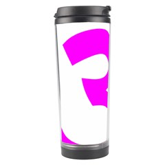Hindu Om Symbol (magenta) Travel Tumbler by abbeyz71