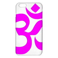 Hindu Om Symbol (magenta) Iphone 6 Plus/6s Plus Tpu Case by abbeyz71