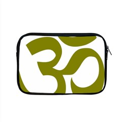 Hindu Om Symbol (olive) Apple Macbook Pro 15  Zipper Case by abbeyz71