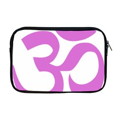 Hindu Om Symbol (bright Purple) Apple Macbook Pro 17  Zipper Case by abbeyz71