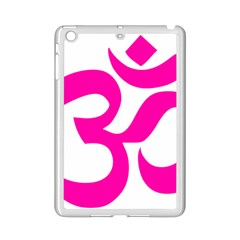 Hindu Om Symbol (pink) Ipad Mini 2 Enamel Coated Cases by abbeyz71