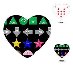 Cute Symbol Playing Cards (heart)  by Nexatart