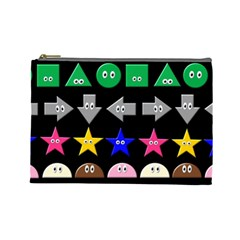 Cute Symbol Cosmetic Bag (large)  by Nexatart