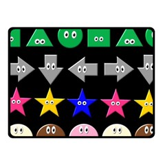 Cute Symbol Fleece Blanket (small) by Nexatart