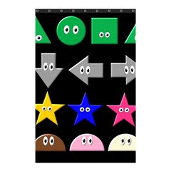 Cute Symbol Shower Curtain 48  X 72  (small)  by Nexatart