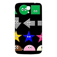Cute Symbol Samsung Galaxy Mega I9200 Hardshell Back Case by Nexatart