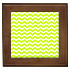 Chevron Background Patterns Framed Tiles by Nexatart