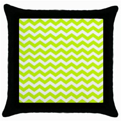 Chevron Background Patterns Throw Pillow Case (black) by Nexatart