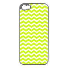 Chevron Background Patterns Apple Iphone 5 Case (silver)
