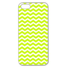 Chevron Background Patterns Apple Seamless Iphone 5 Case (clear) by Nexatart