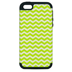 Chevron Background Patterns Apple Iphone 5 Hardshell Case (pc+silicone) by Nexatart