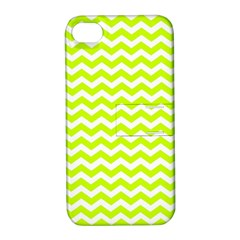 Chevron Background Patterns Apple Iphone 4/4s Hardshell Case With Stand