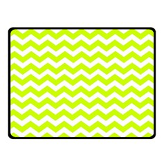 Chevron Background Patterns Double Sided Fleece Blanket (small)