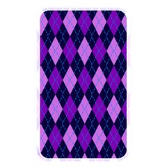 Static Argyle Pattern Blue Purple Memory Card Reader