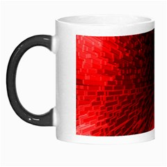 Box Lights Red Plaid Morph Mugs by Mariart