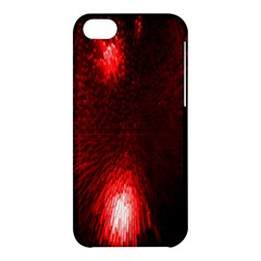 Box Lights Red Plaid Apple Iphone 5c Hardshell Case by Mariart