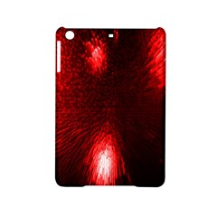 Box Lights Red Plaid Ipad Mini 2 Hardshell Cases by Mariart