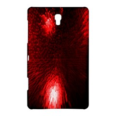 Box Lights Red Plaid Samsung Galaxy Tab S (8 4 ) Hardshell Case  by Mariart