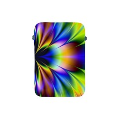 Bright Flower Fractal Star Floral Rainbow Apple Ipad Mini Protective Soft Cases by Mariart