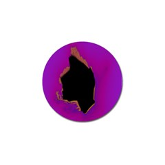 Buffalo Fractal Black Purple Space Golf Ball Marker (10 Pack) by Mariart