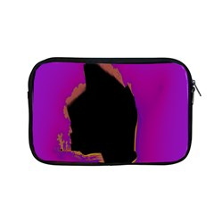 Buffalo Fractal Black Purple Space Apple Macbook Pro 13  Zipper Case