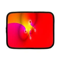 Complex Orange Red Pink Hole Yellow Netbook Case (small)  by Mariart