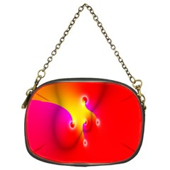 Complex Orange Red Pink Hole Yellow Chain Purses (one Side)  by Mariart