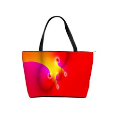 Complex Orange Red Pink Hole Yellow Shoulder Handbags by Mariart