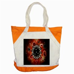 Cancel Cells Broken Bacteria Virus Bold Accent Tote Bag by Mariart