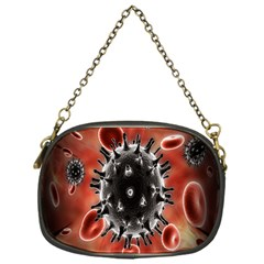 Cancel Cells Broken Bacteria Virus Bold Chain Purses (one Side)