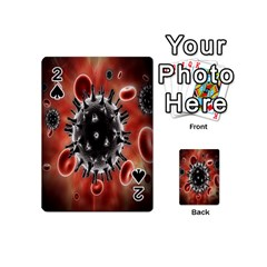 Cancel Cells Broken Bacteria Virus Bold Playing Cards 54 (mini)  by Mariart