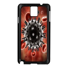 Cancel Cells Broken Bacteria Virus Bold Samsung Galaxy Note 3 N9005 Case (black) by Mariart