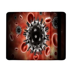 Cancel Cells Broken Bacteria Virus Bold Samsung Galaxy Tab Pro 8 4  Flip Case by Mariart