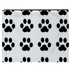 Claw Black Foot Chat Paw Animals Cosmetic Bag (xxxl)  by Mariart