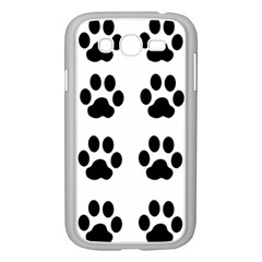 Claw Black Foot Chat Paw Animals Samsung Galaxy Grand Duos I9082 Case (white) by Mariart