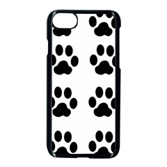 Claw Black Foot Chat Paw Animals Apple Iphone 7 Seamless Case (black)