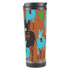 Zebra Horse Animals Travel Tumbler by Mariart