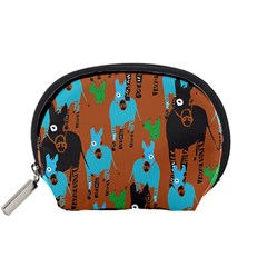 Zebra Horse Animals Accessory Pouches (small)