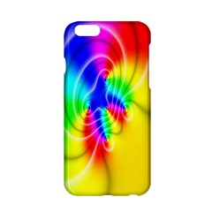 Complex Orange Red Pink Hole Yellow Green Blue Apple Iphone 6/6s Hardshell Case by Mariart