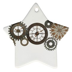 Hour Time Iron Ornament (star) by Mariart