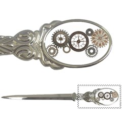 Hour Time Iron Letter Openers by Mariart