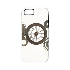 Hour Time Iron Apple Iphone 5 Classic Hardshell Case (pc+silicone) by Mariart